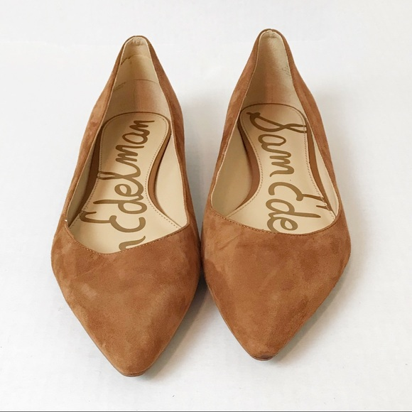 42a02b938 Sam Edelman Reyanne Spiked Flats In Camel Size 9.5.  M_5ae0ad8631a3761286034866